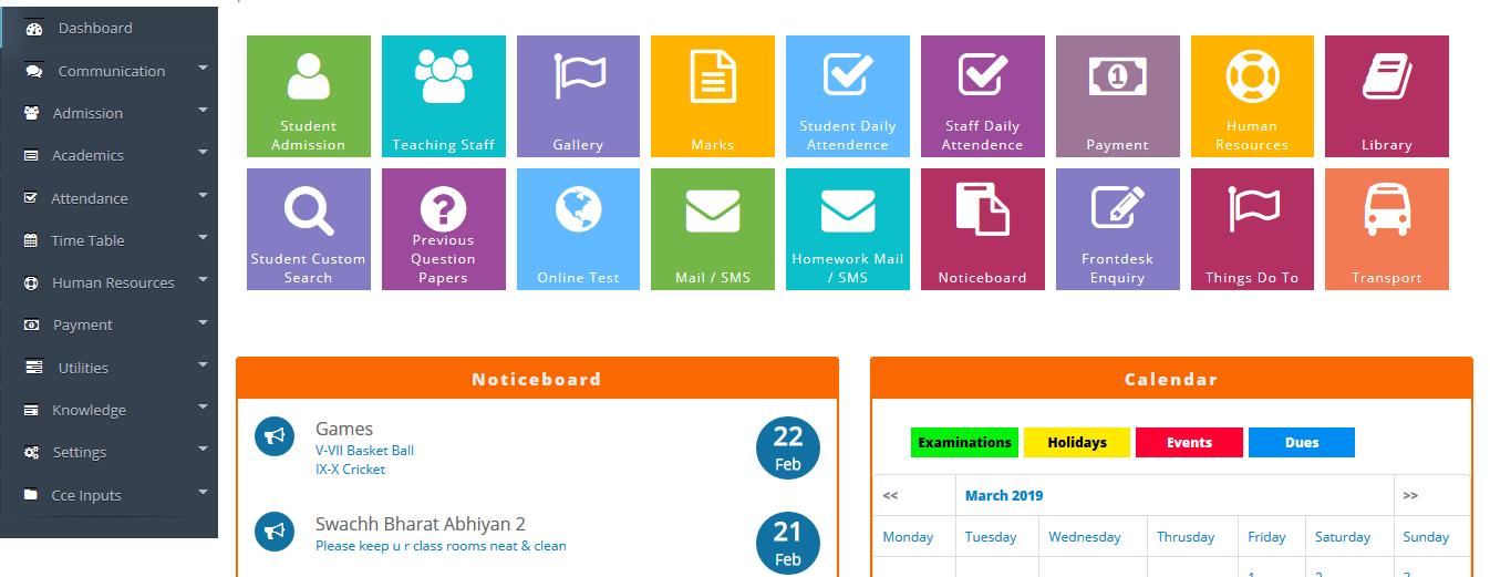 Advance School Management - Buy Ready Website.