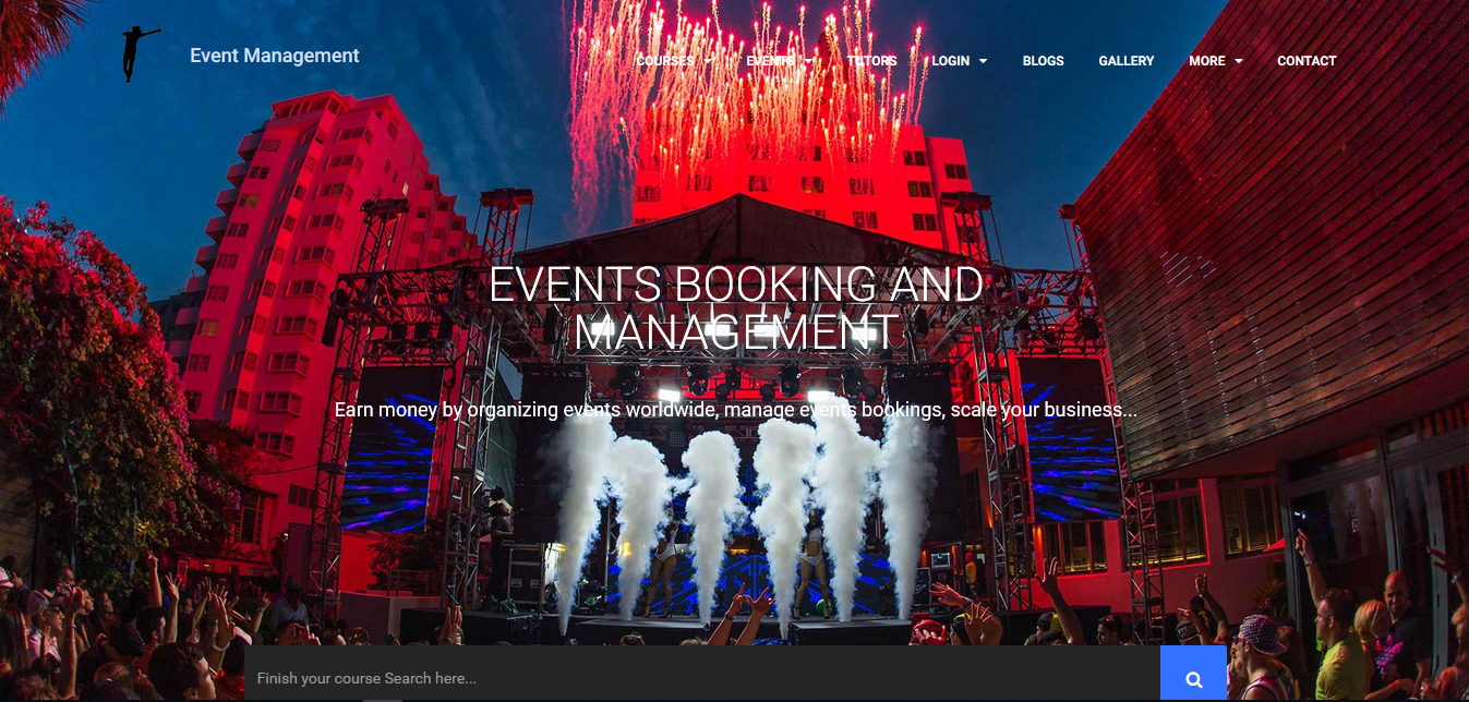 Event Management - Buy Ready Website.