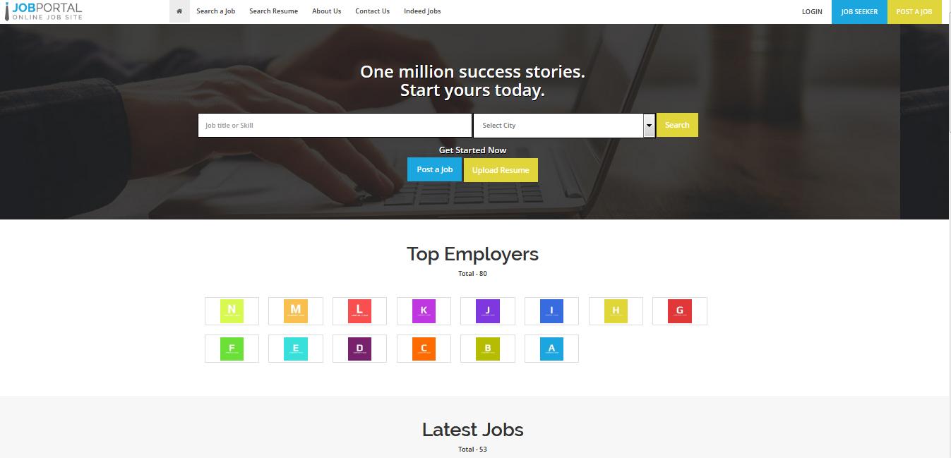 Job Portal - Buy Ready Website