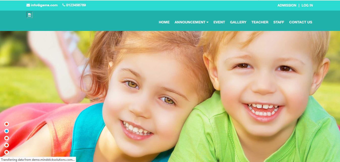 School Management - Buy Ready Website.