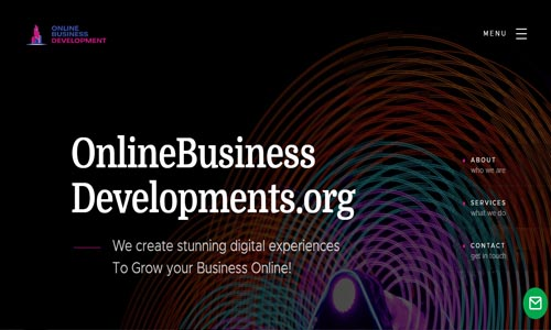 Online Business Developments